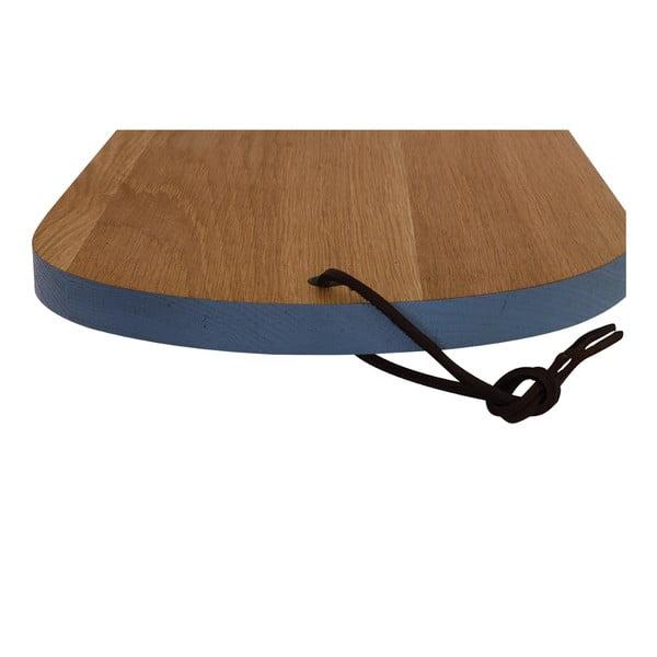 Drevený lopár Oval Blue