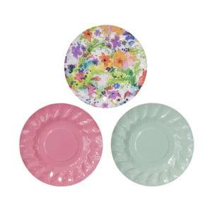 Sada 12 papierových tanierikov Mini Canape