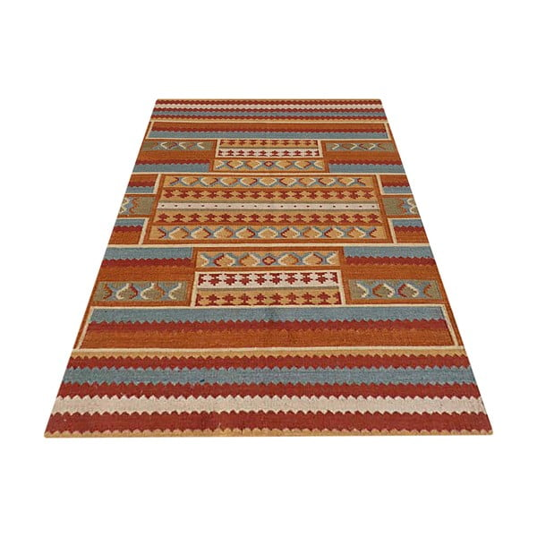 Ručne tkaný koberec Kilim Laksha, 155x240cm
