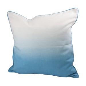 Vankúš s výplňou Dipdye 50x50 cm, modrý