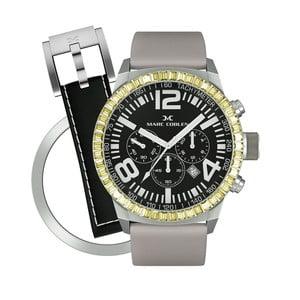 Dámske hodinky Marc Coblen s remienkom a krúžkom na ciferník naviac P115
