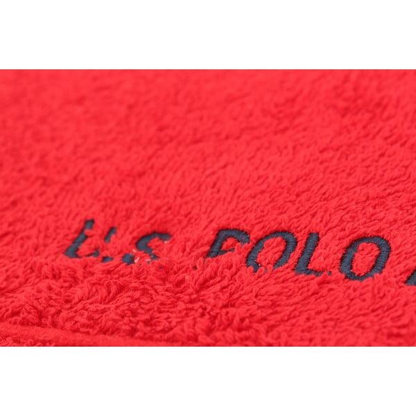 Osuška U.S. Polo Assn. Bath Red, 70 x 140 cm