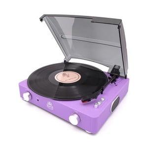 Fialový gramofón GPO Stylo II Lilac