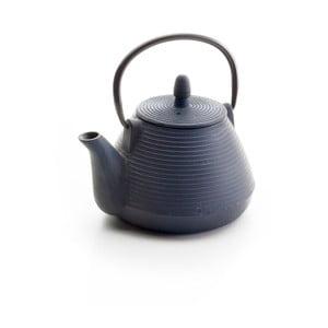 Čierna liatinová čajová kanvička Top5star, 1 l