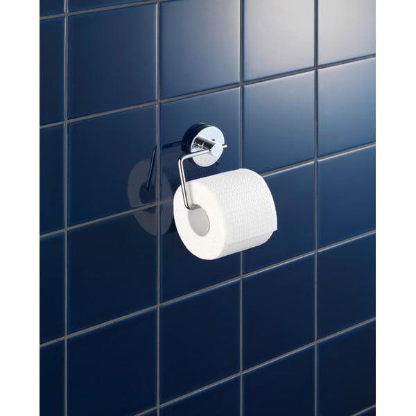 Držiak na toaletný papier bez nutnosti vŕtania Wenko Vacuum-Loc, až 33kg