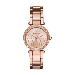 Dámske hodinky vo farbe ružového zlata Michael Kors Bethy