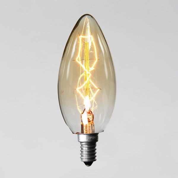 Žiarovka Edison 8, C35 E14 40W