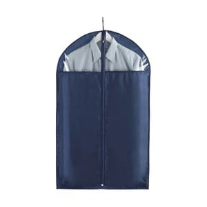 Modrý obal na obleky Wenko Business, 100 x 60 cm