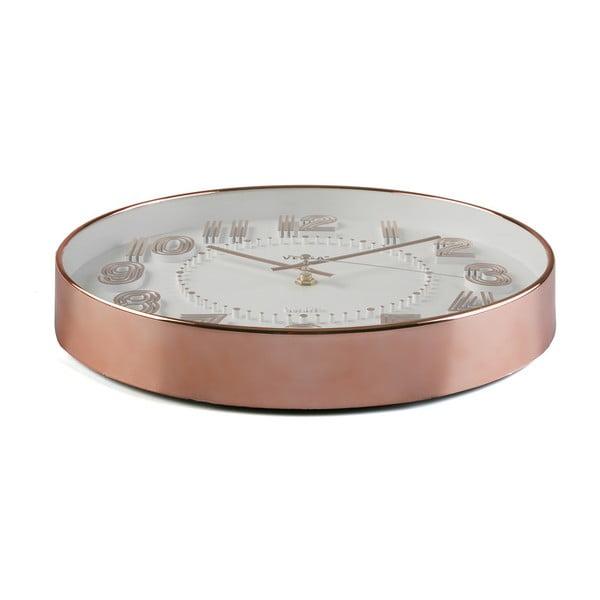 Nástenné hodiny Versa Copper