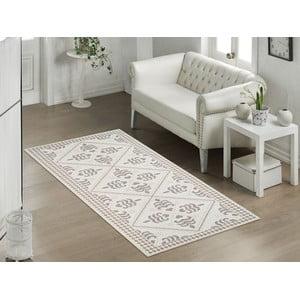 Béžový odolný koberec Vitaus Lulu, 80x200cm