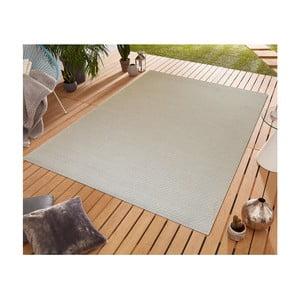 Béžový koberec vhodný aj do exteriéru Floorita Pallino Ecru, 155 × 230 cm