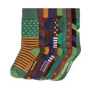 Sada 10 párov vysokých unisex ponožiek Black&Parker London Stone, veľkosť 37/43