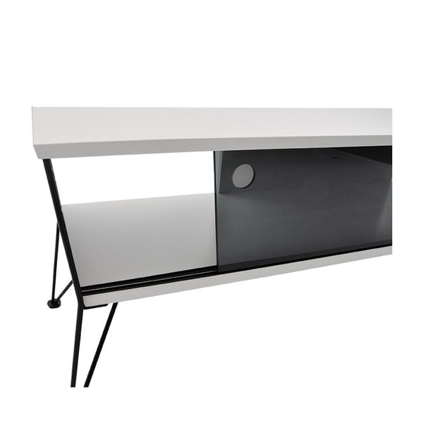 Čierny TV stolík RGE Ester