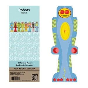 Sada záložiek Mon Petit Art Robots