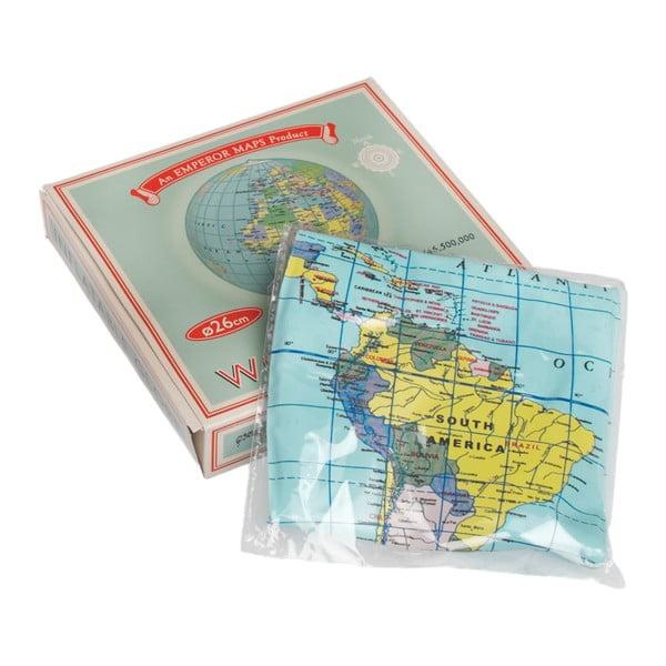 Nafukovací glóbus Rex London World Map