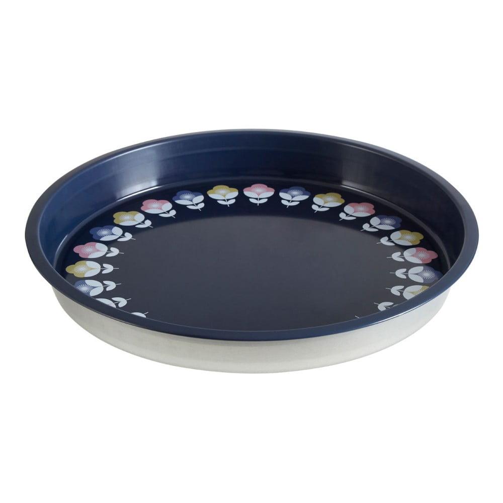 Farebný servírovací podnos z cínu Premier Housewares Joni, Ø 33 cm