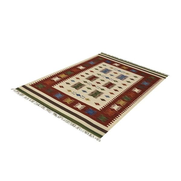 Vlnený koberec Kilim Classic AK02 Mix, 125x185 cm