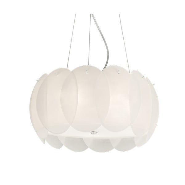 Závesné svietidlo Evergreen Lights Leaves White, 44 cm