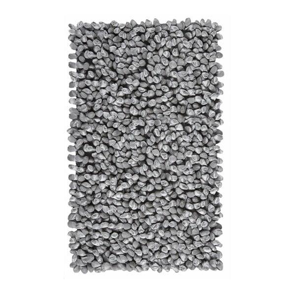 Sivá kúpeľňová predložka  Rocca, 70 x 120 cm