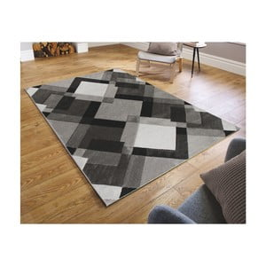 Sivý koberec Flair Rugs Nimbus Grey White, 120 × 170 cm