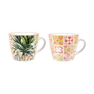Sada 2 porcelánových hrnčekov Sema Tropical S