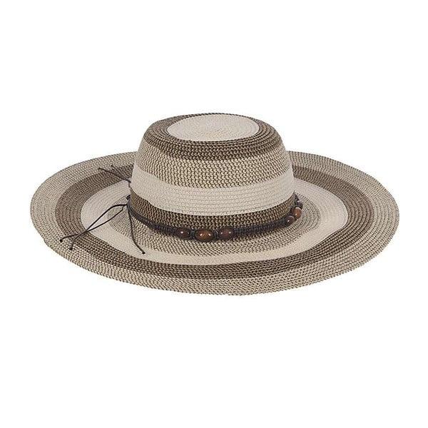 Slamený klobúk Brown Natural