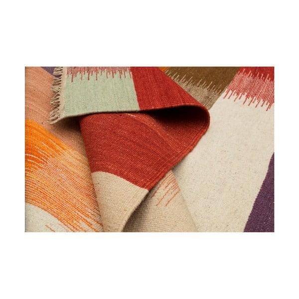 Vlnený koberec Kilim No.181, 120x180cm