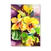 Plagát Yellow Orchids od Suren Nersisyan