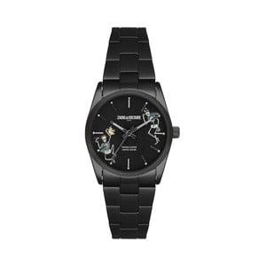 Dámske hodinky čiernej farby Zadig & Voltaire Planet