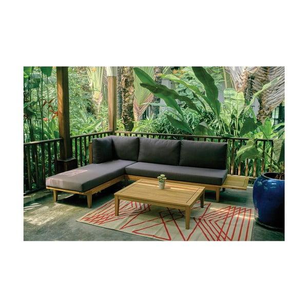 Záhradný stolík z exotického dreva Ezeis Alaia