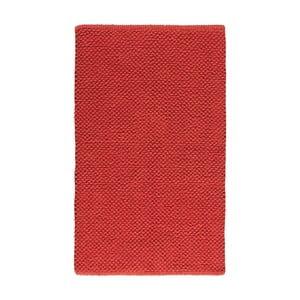 Kúpeľňová predložka Dotts Red, 60x100 cm