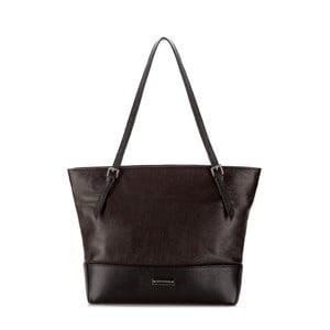 Kožená kabelka Elegance Day Dark Brown