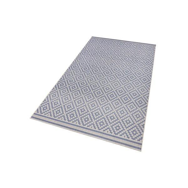 Modrý koberec Bougari vhodný aj do exteriéru Raute, 140x200cm