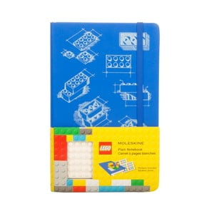 Zápisník Moleskine Lego Blue, čistý