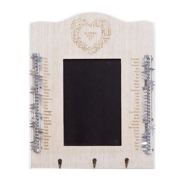 Nástenná tabuľa La Dolce Vita, 40x50x5 cm