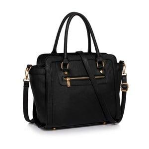 Čierna kabelka L&S Bags Trianon