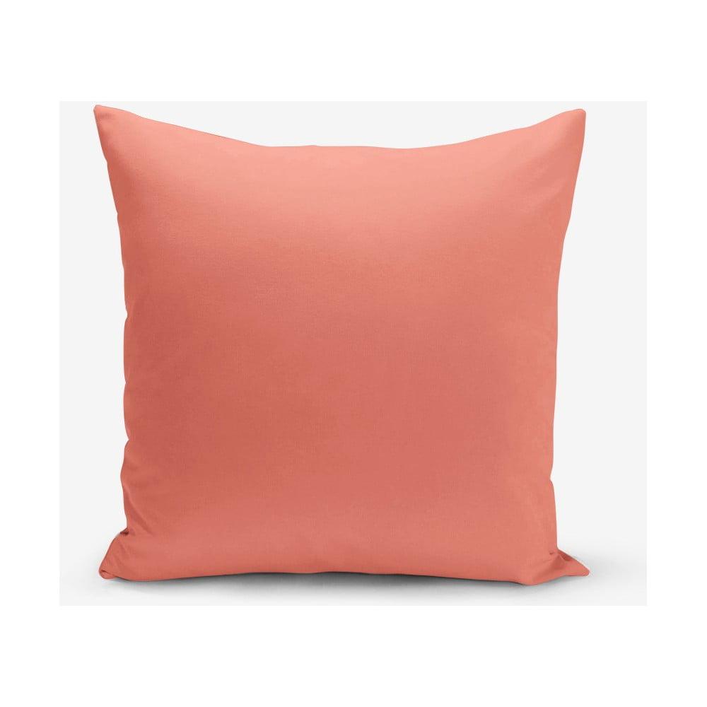 Oranžová obliečka na vankúš Minimalist Cushion Covers, 45 × 45 cm