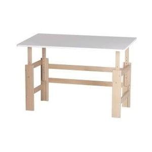 Detský písací stôl s nastaviteľnou výškou Manis-h, 115 x 65 cm