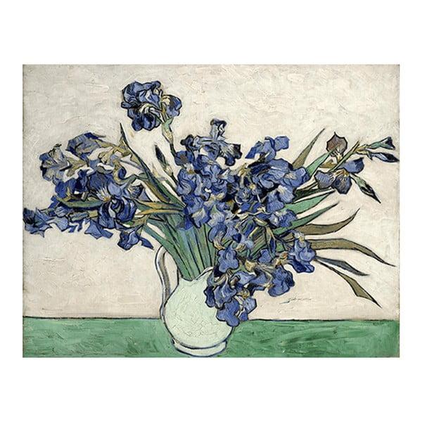 Obraz Vincenta van Gogha - Irises 2, 60x40 cm