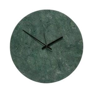 Nástenné mramorové hodiny Hübsch Tempus, ø 31 cm
