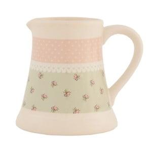 Keramická nádoba na mlieko Clayre Roses