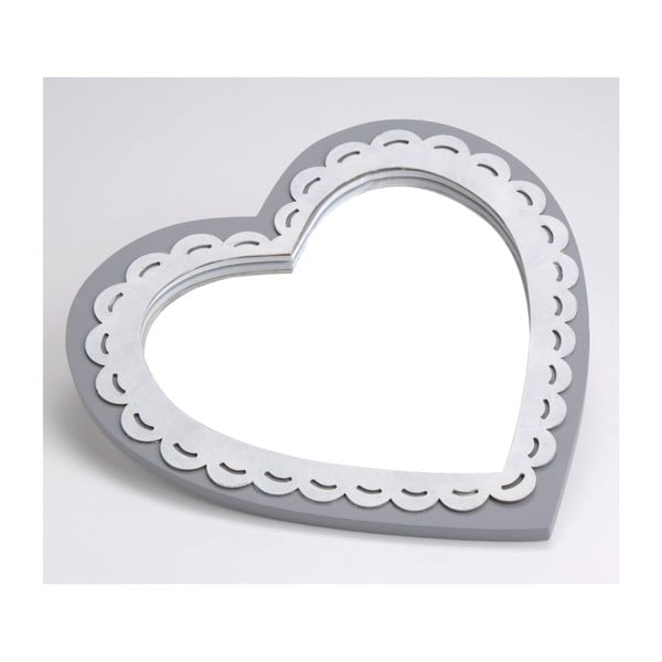 Zrkadlo Deauville Heart, 25x25 cm