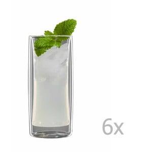 Sada 6 stredných pohárov bloomix Kavex