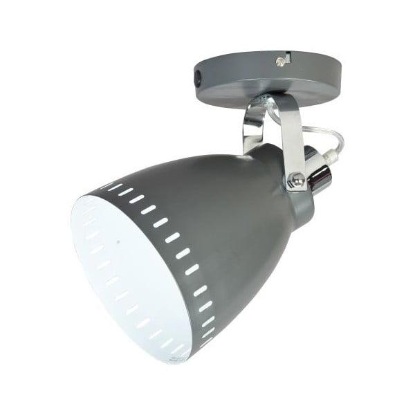 Sivá nástenná lampička ETH Acate