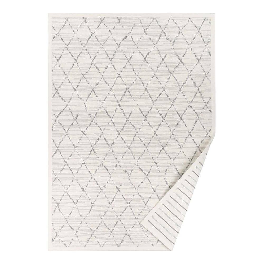 Biely obojstranný koberec Narma Vao White, 80 x 250 cm
