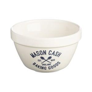 Kameninová miska na puding Varsity White, 16 cm