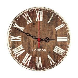 Nástenné hodiny Wooden London, 30 cm