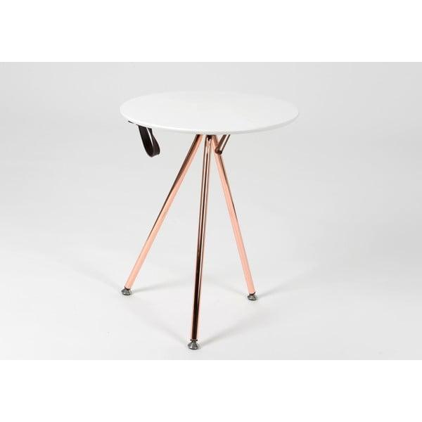 Odkladací stolík Tripod Copper