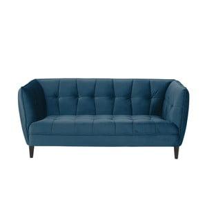 Modrá dvojmiestna pohovka Actona Jonna, dĺžka 182 cm