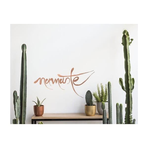Samolepka na stenu Namaste